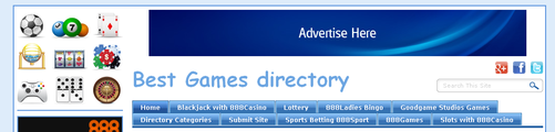 Top Site Feature Advertisement on Best Games Directory