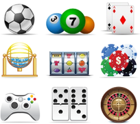 Games Icons Main Graphics