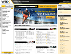 WBX World Bet Exchange home-page
