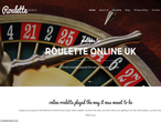 Roulette Online UK website picture
