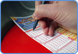 Euromillions player choose personal lucky numbers