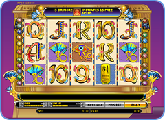 888 Games - Cleopatra video slot game