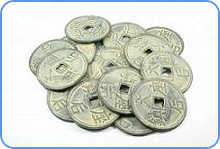 Coins from ancient China