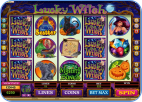 Lucky Witch 5-reel online slots game
