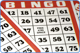 Traditional Bingo play-slips graphic