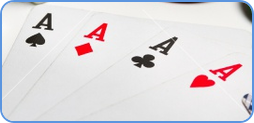 Poker cards. History of poker game.