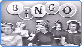 Bingo players attending TV show Bingo at Home