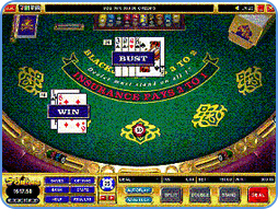 european blackjack online table