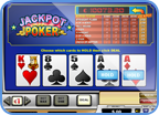 Jackpot Poker online table game