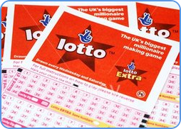 UK Lotto blank coupons play-slips
