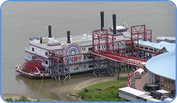 Casino Rouge on ship.