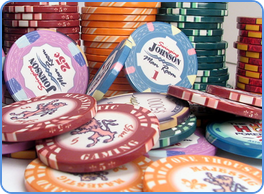 Lynmark semi custom poker ceramic chips