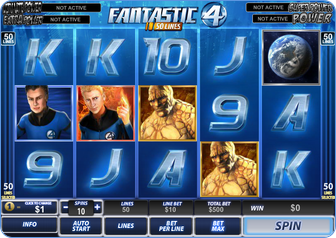 Fantastic Four Slot Game preview