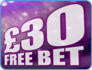 Betdaq 30 Pounds free bet welcome bonus graphic