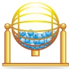 lottery draw machine icon